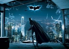 Batman the Dark Knight Rises Wallpapers Murals for Bedroom Designs Ideas