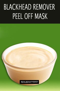 natural DIY pore strips and peel-off mask to deep clean pores
