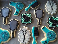 Salon Hairstylist Sugar Cookies - Large Order
