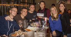 """Week 2 - 3rd Place: Kitten's Mittens with 165 points                             """"The B-Team"""" took 2nd place with 175 points!  Watch out for these guys in   Season 2 of the DaVinci Trivia League!  They know their trivia!"""