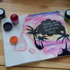 Mach dieses Buch fertig #wreckthisjournal #kerismith #perfume #dream #beach