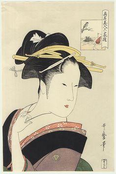 Takashima Ohisa  by Utamaro (1750 - 1806)