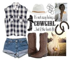"""If The Boots Fit..."" by bcsipp ❤ liked on Polyvore featuring Universal Lighting and Decor, Madden Girl, RVCA and H&M"