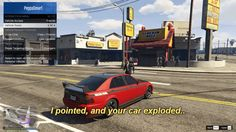 [GTA V] Opening all the car doors is a fun way to attack someone!