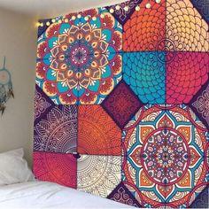 Bohemia Patterned Hanging Waterproof Wall Art Tapestry
