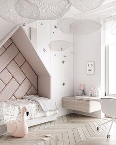 Bedroom Design Ideas monochrome kids bedroom, kid room decor for girls, bedroom kid, pr Cool Kids Bedrooms, Kids Bedroom Designs, Kids Room Design, Girls Bedroom, Kids Rooms, Master Bedroom, Childs Bedroom, Kid Bedrooms, Bedroom Red