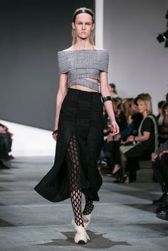 A look from the Proenza Schouler Fall 2015 RTW collection.