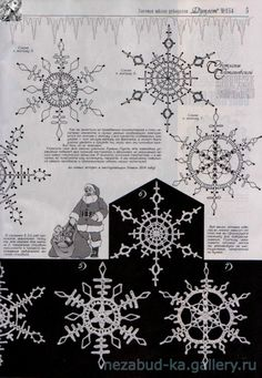 New Ideas Crochet Christmas Doily Snow Flake Crochet Snowflake Pattern, Crochet Stars, Crochet Snowflakes, Thread Crochet, Crochet Motif, Crochet Doilies, Crochet Flowers, Crochet Patterns, Snowflake Craft