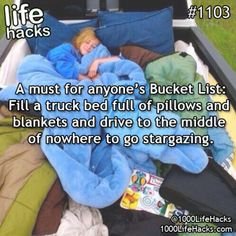 life stars bucket list life hacks