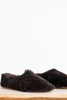 Brother Vellies Chocolate Sahara Shoe