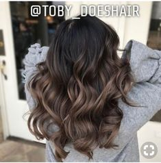 6 Great Balayage Short Hair Looks – Stylish Hairstyles Ash Brown Balayage, Brown Ombre Hair, Balayage Brunette, Hair Color Balayage, Brunette Hair, Hair Highlights, Bayalage, Color Highlights, Blonde Hair