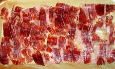 Jamon Iberico - nothing tastes better Carme Ruscalleda, Ham Bone, Spanish Food, Acorn, Pork Recipes, Soul Food, Yummy Food, Favorite Recipes, Meals