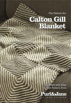 Ravelry: Calton Gill Blanket pattern by Jane Ellison