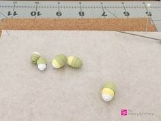How to make simple quilling paper flowers - daffodils and flower buds, Paper Flower Buds