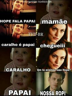 Series Movies, Movies And Tv Shows, Frases Tvd, Teen Wolf, Klaus Tvd, The Orignals, Tv Supernatural, Funny Memes, Jokes