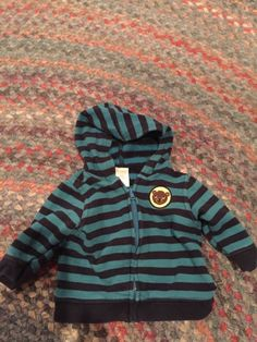 db77d4b8ef5211 Extra Off Coupon So Cheap gymboree months zip hoodie blue navy stripe bear