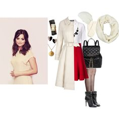 A fashion look from February 2015 featuring Dolce&Gabbana tops, Dolce&Gabbana skirts and La Perla tights. Browse and shop related looks.