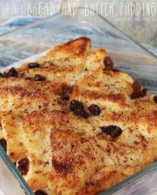 Cocinando en Marte: Bread and butter pudding {pudín de pan y mantequilla}