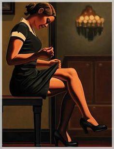 Mend - Jack Vettriano