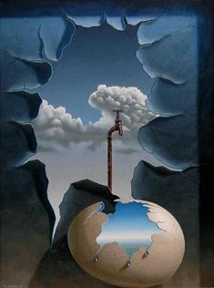 So surreal photography by René Magritte Rene Magritte, Conceptual Art, Surreal Art, Mago Tattoo, Surealism Art, Art Visionnaire, Surrealism Painting, Modern Surrealism, Painting Art