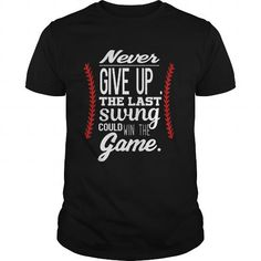 BASEBALL TSHIRT Shirts For Teens, Teen Shirts, Father's Day Diy, Never Give Up, Fathers Day Gifts, Baseball, Clever, Mens Tops, Gift Ideas