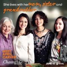 Chasing Life - A household of women and they're all good-looking, wish I lived next door