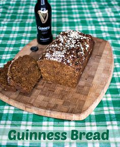 Guinness Bread - A hearty quick bread made with Guinness Stout which is perfect for St. Patrick's Day.