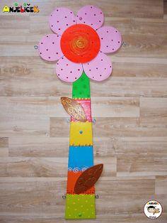 anjelicek / Dekorácia na zavesenie - kvietok Clock, Wall, Home Decor, Watch, Decoration Home, Room Decor, Interior Design, Home Interiors, Clocks