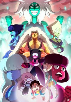 Hey guys! I've finished my last work for myself! I wanted to do something like this, a draw of the Steven Universe and the Crystal Gems. I tryed to do a good drawing with this, but I'm not sure if ...