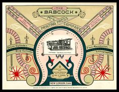 Babcock Printing Press Manufacturing Company | Sheaff : ephemera