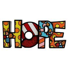 WORD FIGURINE - HOPE