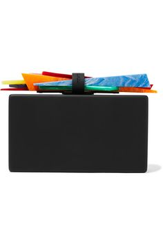 Black metal, multicolored acrylic Clasp fastening at top Comes with dust bag Made in Italy                                                                                                                                                                                                                                                                                                                                                                                                                                                                                                                                                             NET-A-PORTER