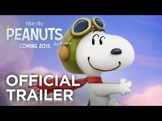 Exclusive Official New Movie Trailer for The Peanuts Watch the exclusive new trailer for The #Peanuts #Movie where #Snoopy , Charlie Brown and the rest of the gang will make their big-screen debut.