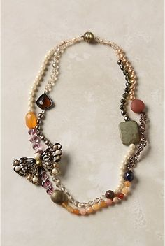 anthropology inspired jewelry | Homemade Gift: Anthropology Inspired Necklace