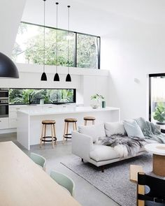 Gorgeous Scandinavian Interior Design Ideas You Should Know --- House Nordic Style Modern Brick Traditional Norway Wood Interior Urban Exterior Contemporary Sweden Old Facade Denmark City Alvar Aalto Apartment Office Forest Home Hotel Buildings Design Cot Interior Design Living Room, House Design, Luxury Decor, Interior Design, Home Decor, House Interior, Interior Architecture, Home Deco, Retro Home Decor