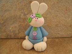 Bunny in Blue. $10.95, via Etsy.
