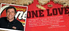 Raising Cane's founded by Todd Graves (ABJ '94).