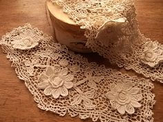antique Irish crochet lace