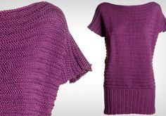 Faça um vestido de tricô para aquecer e modernizar seu inverno