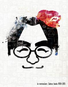 Iwata San you will be missed.In Memory of Satoru Iwata. #nintendo, #satoruiwata #kirby, #earthbound