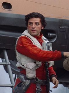 Oscar Isaac as Poe Dameron in Star Wars: The Force Awakens (2015)