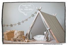 Give children a playful hideaway all their own: a tent that sparks imagination and suits your style