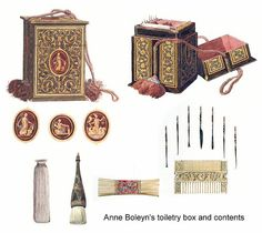 Anne Boleyn's Toiletry Box and Contents by That Boleyn Girl, via Flickr