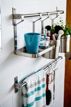 Bathroom Jolt - The Best IKEA Bathroom Hacks From Pinterest - Photos