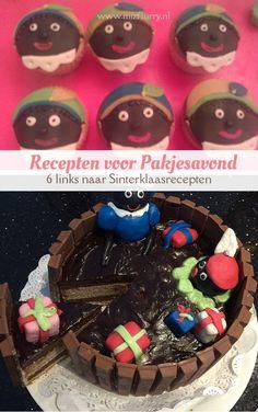 Zes handige links naar Sinterklaasrecepten van lekkernijen voor pakjesavond, bijvoorbeeld pepernoten, Sinterklaastaart, Pietentaart of speculaascupcakes. Oreo, Birthday Cake, Party Ideas, Sweets, Holidays, Desserts, Kids, Food, Blogging