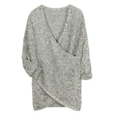 Dreamy - this is why it's so hard for me to give up grey //RD Style Wakefield Crossover Sweater