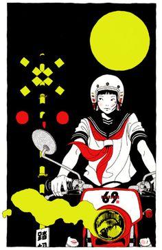 Kai Fine Art is an art website, shows painting and illustration works all over the world. Photography Illustration, Art Photography, Illustration Art, Manga Anime, Anime Art, Collages, Homescreen Wallpaper, Japanese Art, Comic Art