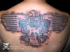 Spreading Wings Tattoo » ₪ AZTEC TATTOOS ₪ Aztec Mayan Inca Tattoo Designs Instant Download