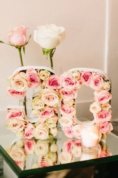 These lovely floral numbers would be perfect for the next birthday celebration.