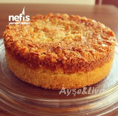 German Almond Cake with Honey - Obstkuchen Ginger Loaf, Mousse Au Chocolat Torte, Pudding Cake, Almond Cakes, No Cook Meals, Chocolate Cake, Bakery, Deserts, Dessert Recipes